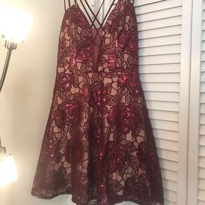 Prom or cocktail dress from Macy's